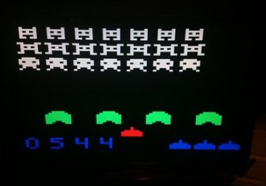 1Kb Space Invaders