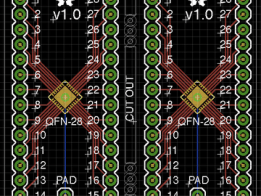 SMT to DIP Breakout Boards