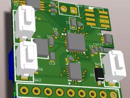 Micro DIY Lipo retro NumiTron clock