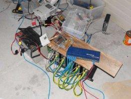 Solar-powered cloud computing