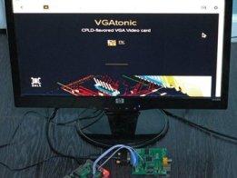 VGATonic v2 Serial VGA Graphics Card