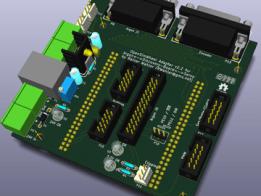 Argon - Discovery Board - Servo - Adapter board