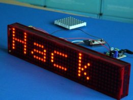 Starling: A modular internet connected LED display