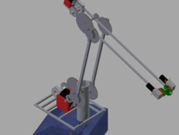 DIMER MKII, Large open robotic arm