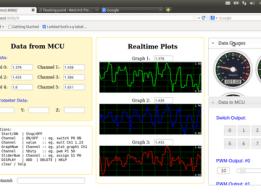 Web UI based data acquisition & control unit