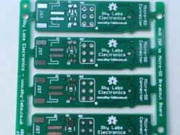 uSD to Arduino ISP Header