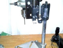 rotary-tool-drill-press to Drill-Press conversion