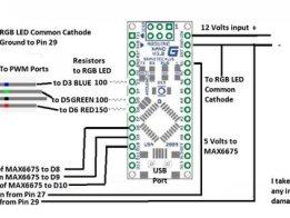 Fitting Heat Bed warning RGB LED