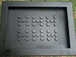 Domino LED Clock