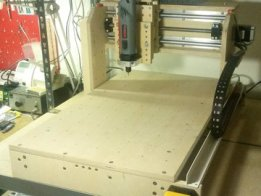 DIY Multiplex Plywood CNC Mill