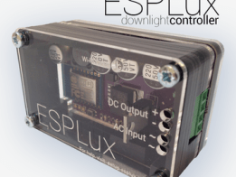 ESPLux - Smarts for your downlights