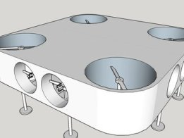 Indoor Experiments in Zero Gravity