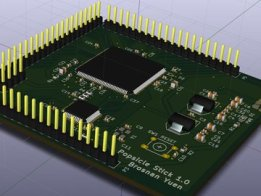 Project Popsicle Stick - ICE40 STM32 board