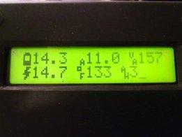 Xantrex C34/C40/C60 Display