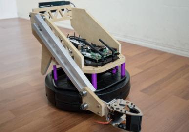 Autonomous home robot that does things