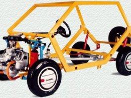 The electronic car urban 4X4