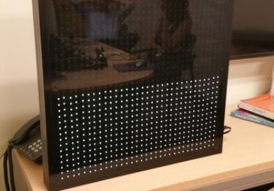 NeoPixel Data Visualization Board