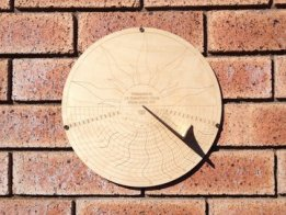 My Wall Mounted Sundial