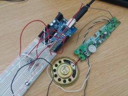 Partialy-salvaged Arduino audio sample player