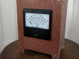 Panel meter Moon phase Clock