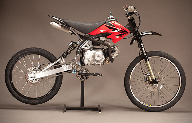 Motoped Motorized Bicycle
