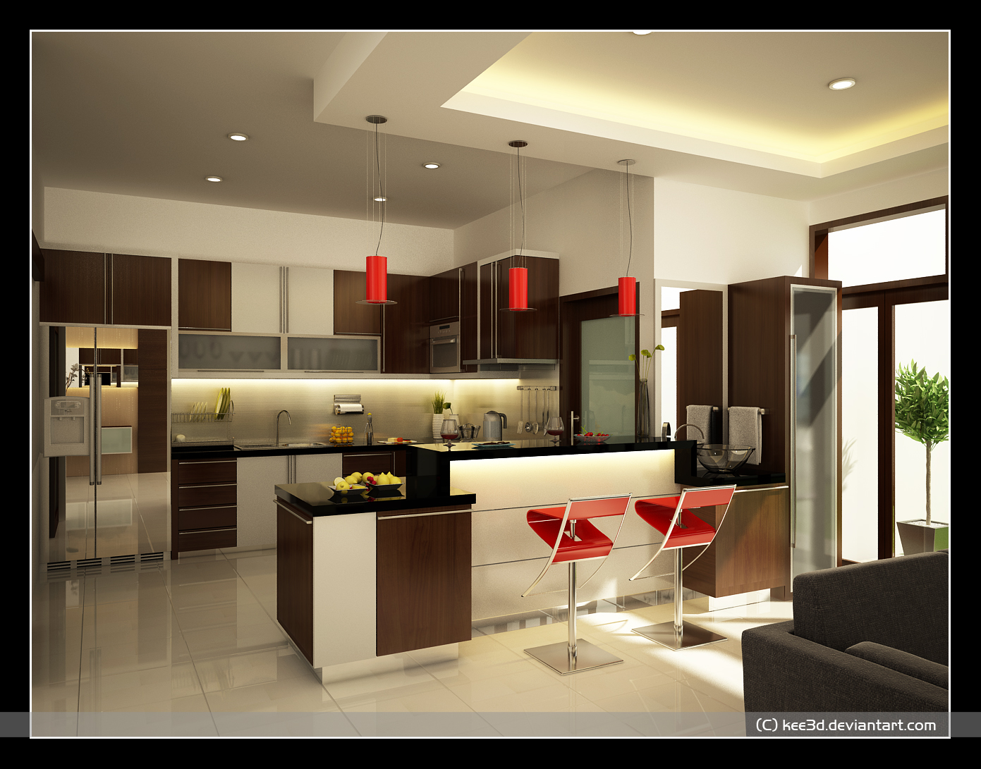 kitchen design ideas set 2 kitchen remodeling ideas by Octo Brilian