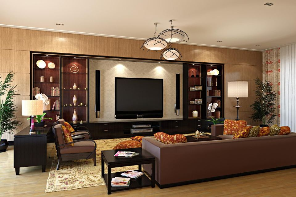 living room by masvaley 20 Beautiful Entertainment Room Ideas