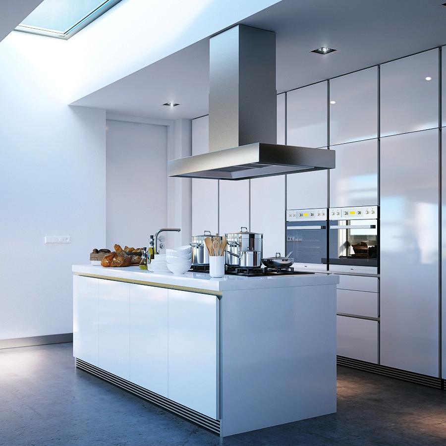 Modern Kitchen Island Design To Creativity