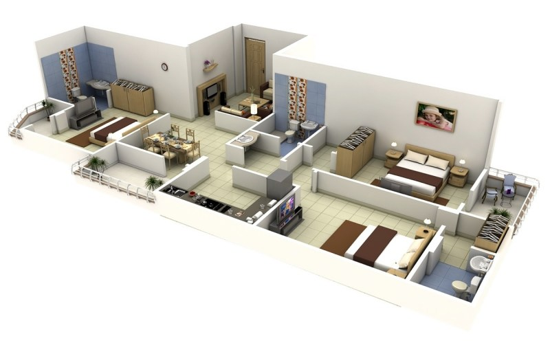 Large Of Apartment Design Plan