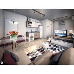 Small Crop Of Furnishing Studio Apartment