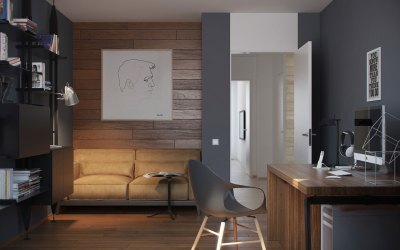 5 Ideas For A One Bedroom Apartment With Study (Includes Floor Plans)