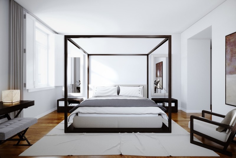 Large Of Four Poster Bed