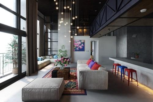 Medium Of Modern Interior Design Living Room