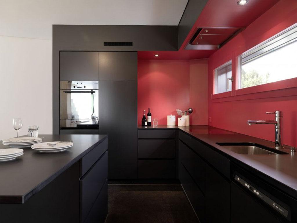 best modern kitchen cabinets modern kitchen designs 9 Black Beauty