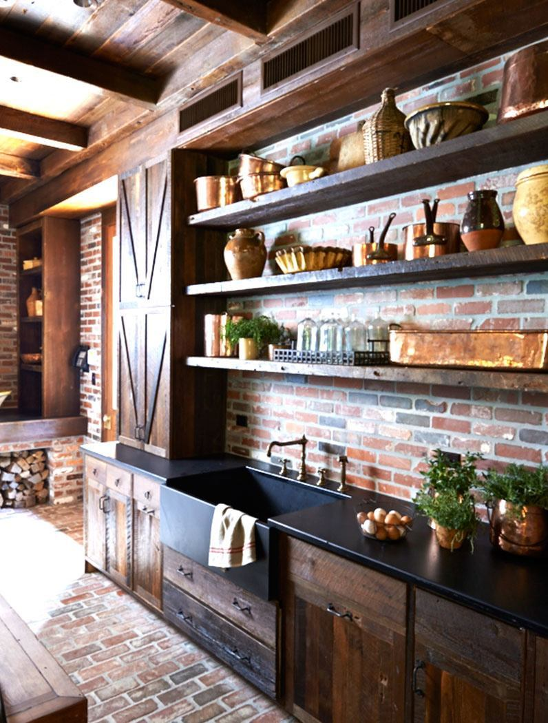 best rustic country kitchen design ideas country kitchen design ideas 2 Show Off the Strength of Rich Woodwork