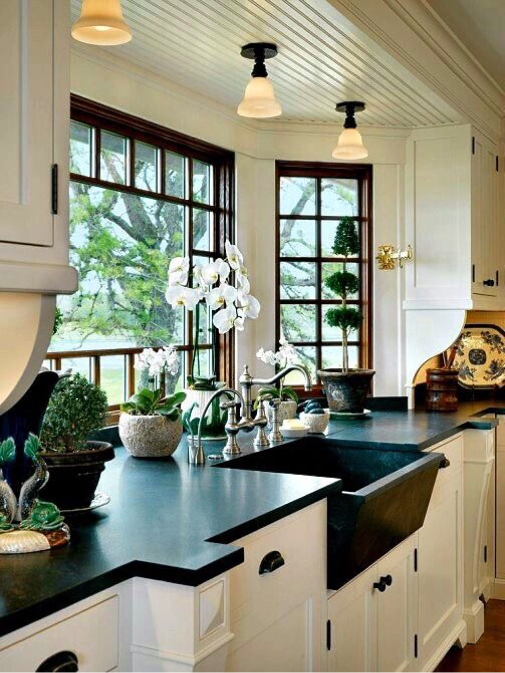 best rustic country kitchen design ideas country kitchen design ideas 5 Smart Detailing and Beautiful Plants Combine with Premium Fittings