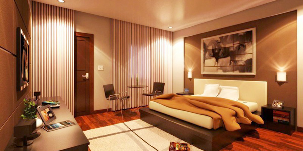 decorate a romantic bedroom lighting for