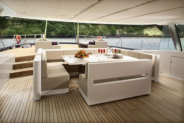 Interior Design Minimalis  A Luxury Dream Yacht Interior Design The