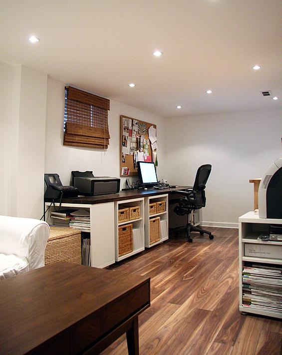 custom desk project diy office