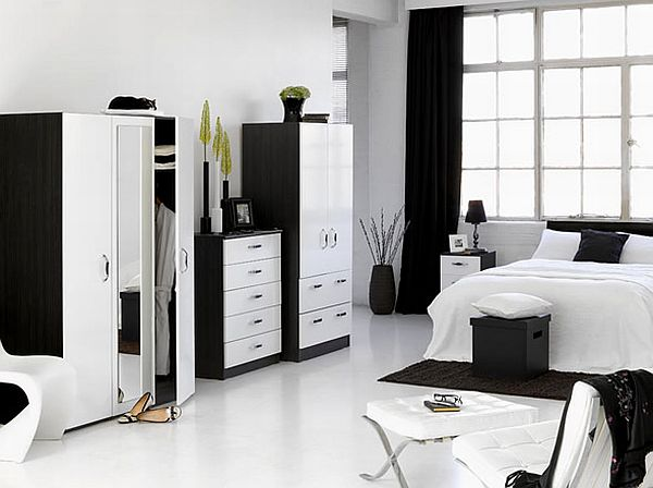 Decorate A Bedroom With White Furniture  W