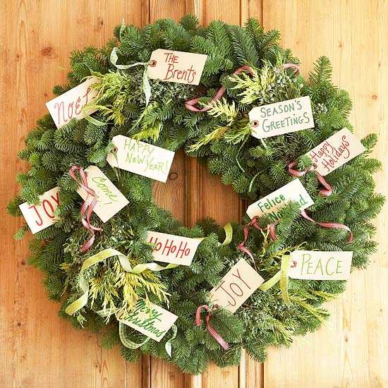 40 Christmas Wreaths Ideas for 2011 View in gallery