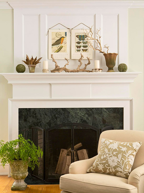 30 Fireplace Mantel Decoration Ideas For example  color View