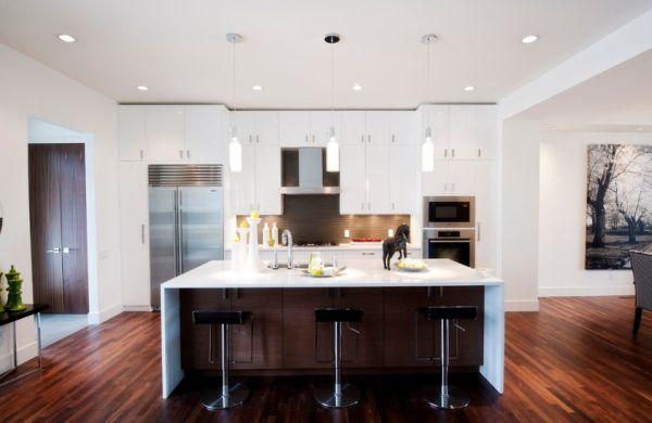 Impressive Modern Kitchen Island Design Inside Inspiration