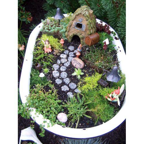 Medium Crop Of Fairy Garden Planter Box