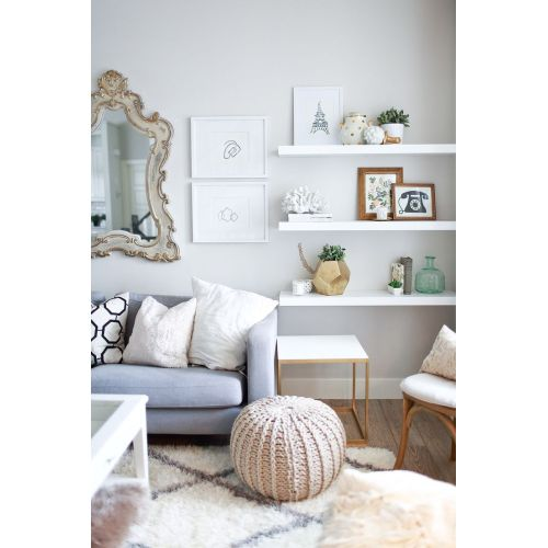 Medium Crop Of Floating White Wall Shelves