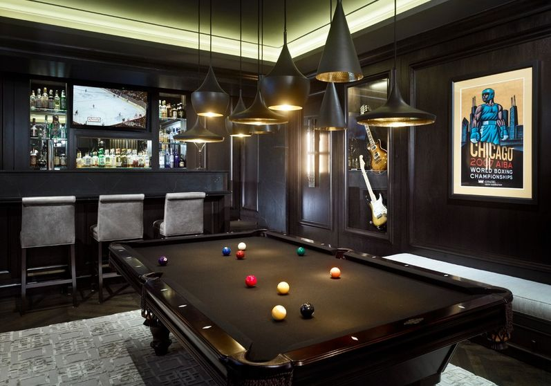 Gamingroomwithpooltable Gaming Man Cave Allhomelife – Gamer Bedroom