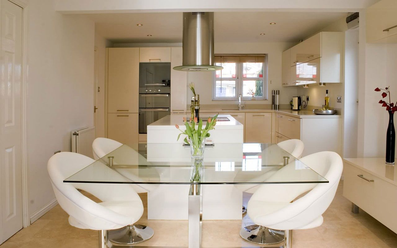 decorating with neutral colors for every room in your house small white kitchen table DINING ROOM