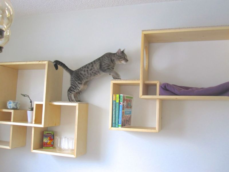 Large Of Modern Wall Mounted Bookshelves