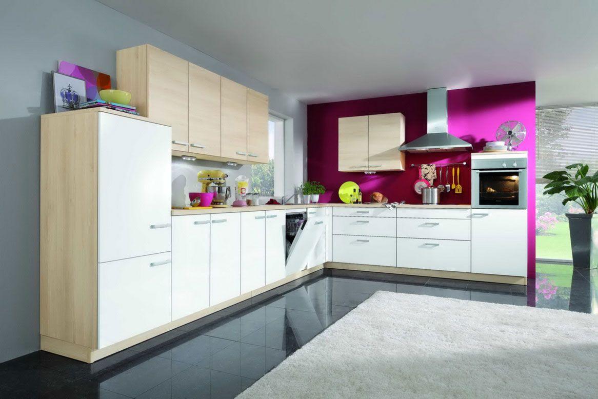 kitchen color schemes contemporary kitchen chairs Fuchsia Light Neutrals Kitchen