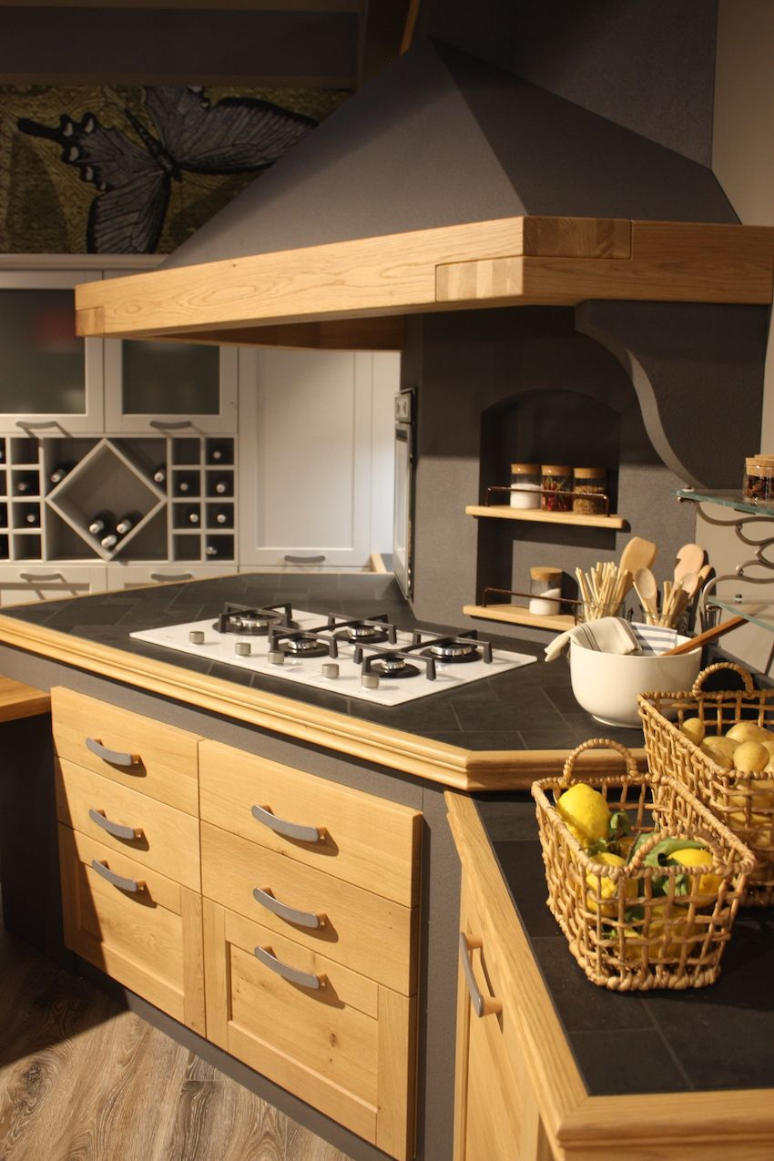 wood kitchen cabinets wood kitchen cabinets Wood can also accent a more traditional kitchen design like this one from Arrex The